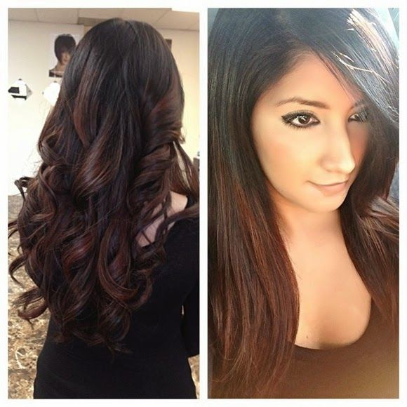 Trendy Ideas For Hair Color Highlights Red Ombre Highlights On