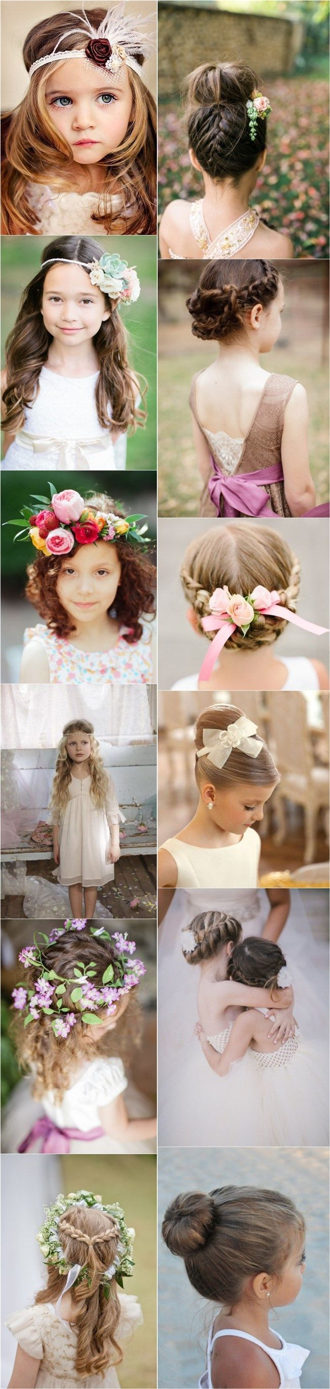 Bridal Hairstyles : 30 Super Cute Little Girl Hairstyles for Wedding ...