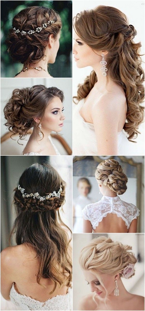 Lovely Wedding Hairstyles with Pretty Hairpieces / www.himisspuff.co...