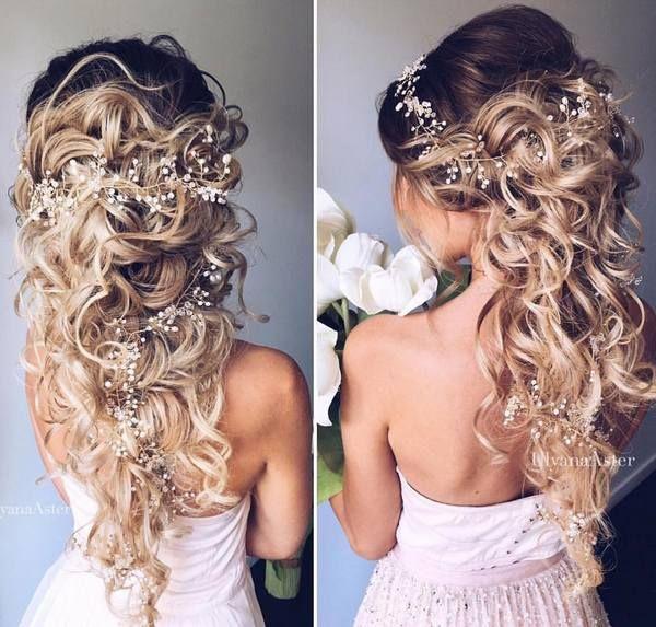 Wedding hairstyles ulyana aster romantic long bridal wedding ulyana aster romantic long bridal wedding hairstyles27 see more deerpe junglespirit Choice Image