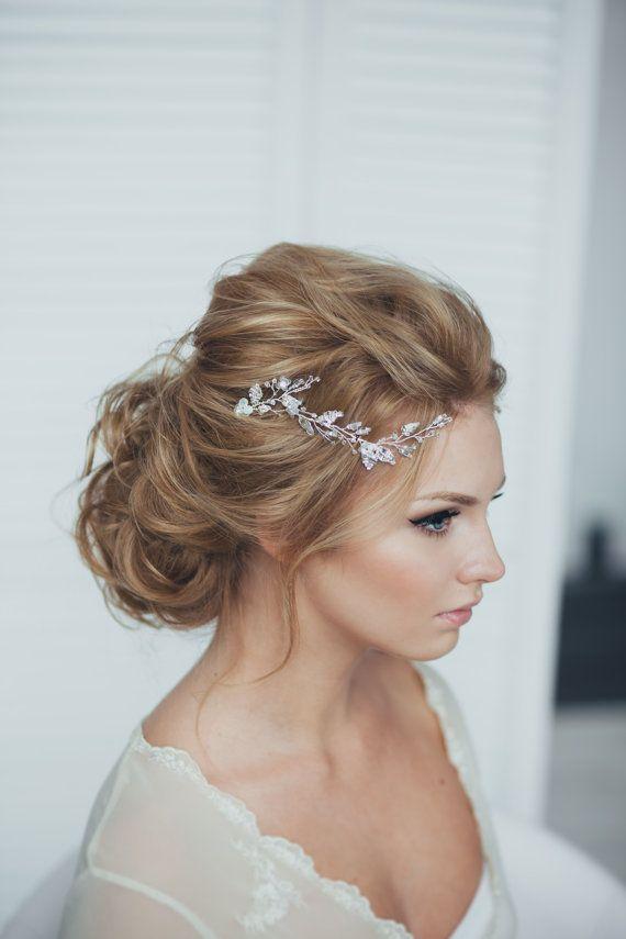 Wedding Hairstyles : Wedding Hair - Messy Updo - Beauty Haircut ...