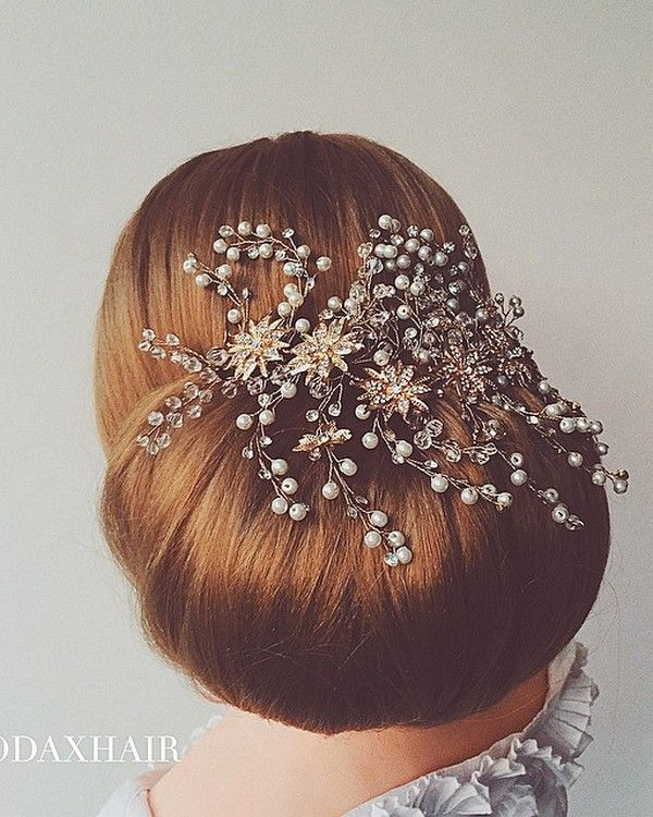 Wedding Updo Hairstyles for Long Hair from Ulyana Aster_03 ❤ See more: www.dee...