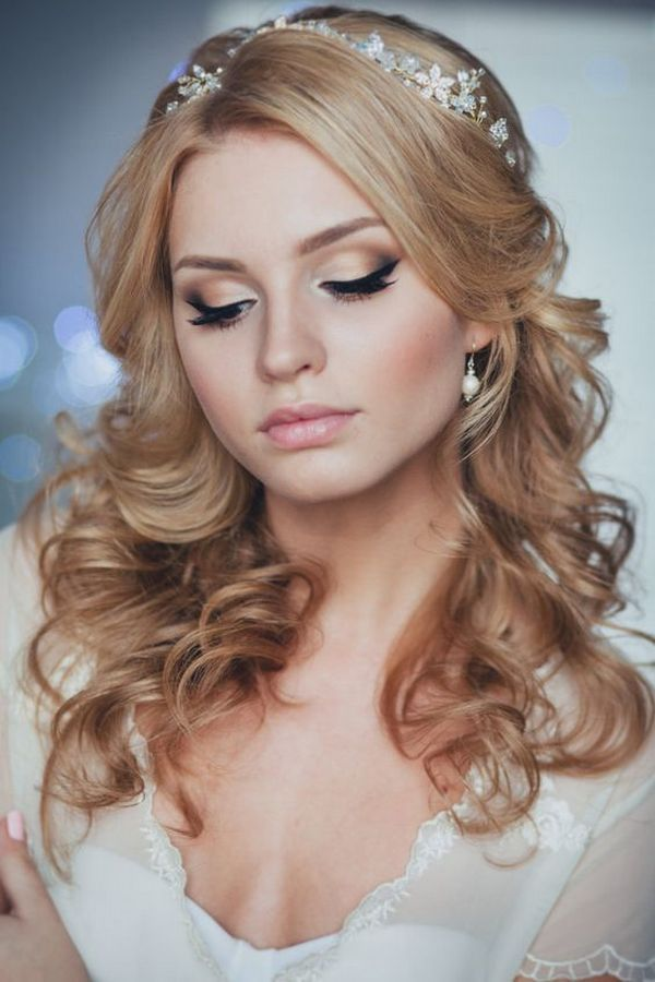long down wedding hairstyle from Enzebridal / www.himisspuff.co...