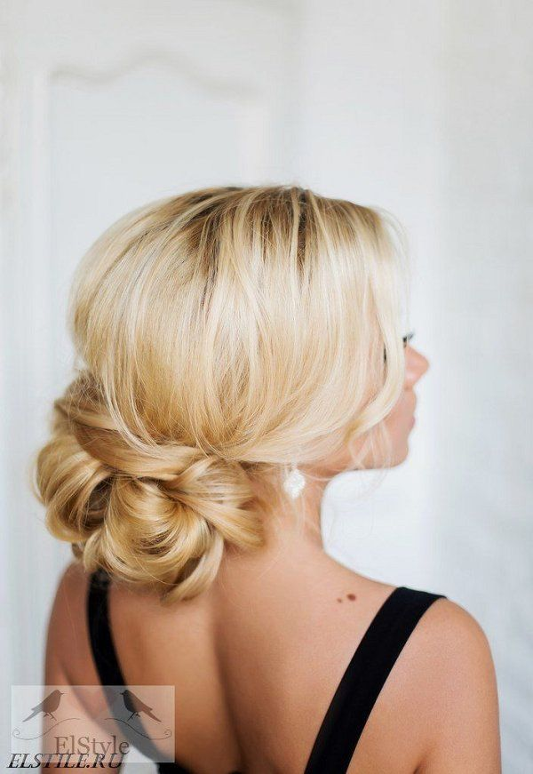 Wedding Hairstyles : low updo hairstyle for wedding - Beauty Haircut ...