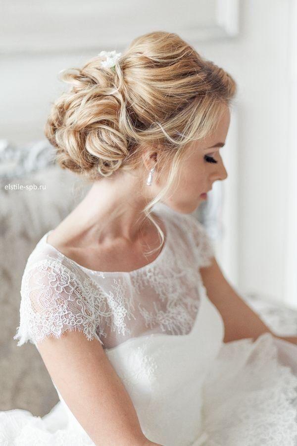 Wedding hairstyles rustic vintage wedding updo hairstyle deer rustic vintage wedding updo hairstyle deer pearl flowers junglespirit Images
