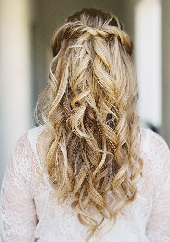 Wedding hairstyles simple half up half down wdding hairstyle idea wedding hairstyles simple half up half down wdding hairstyle idea via lane dittoe photography junglespirit