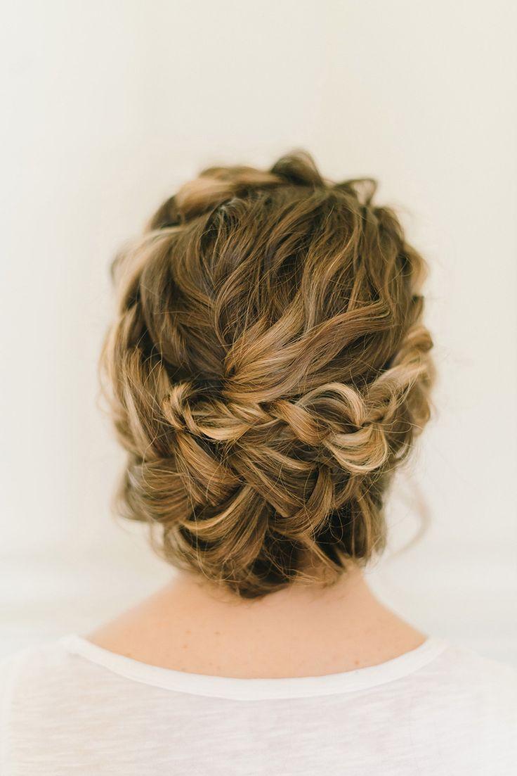 Wedding Hairstyles : #weddinghair #hairystyles #updos #braid ...