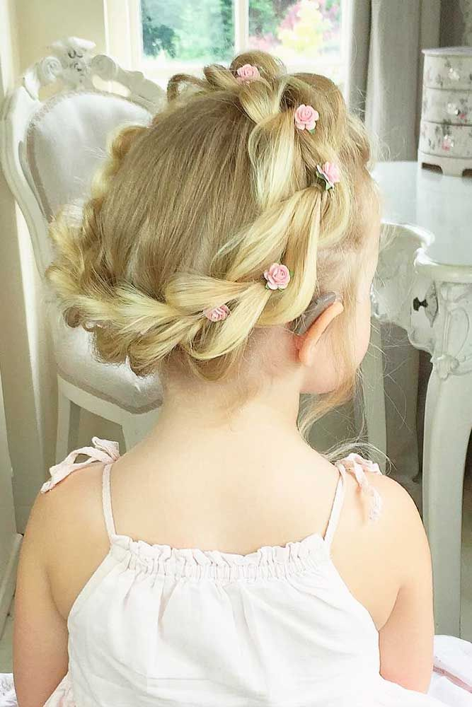 Cute Kid Hairstyles For Weddings - Hairstyles By Unixcode