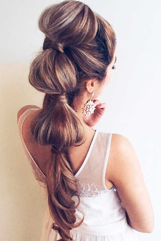 Bridal Hairstyles : 24 Stylish Easy Wedding Hairstyles ❤ See more ...