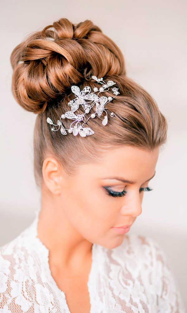 30 Wedding Hairstyles - Romantic Bridal Updos ❤ See more…