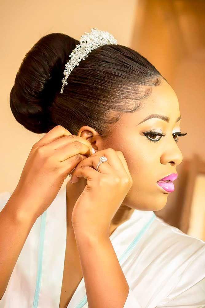 Bridal Hairstyles : 18 Black Women Wedding Hairstyles ❤ See more ...