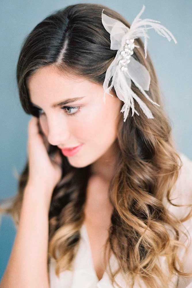 Bridal Hairstyles 24 Stylish Easy Wedding Hairstyles See More