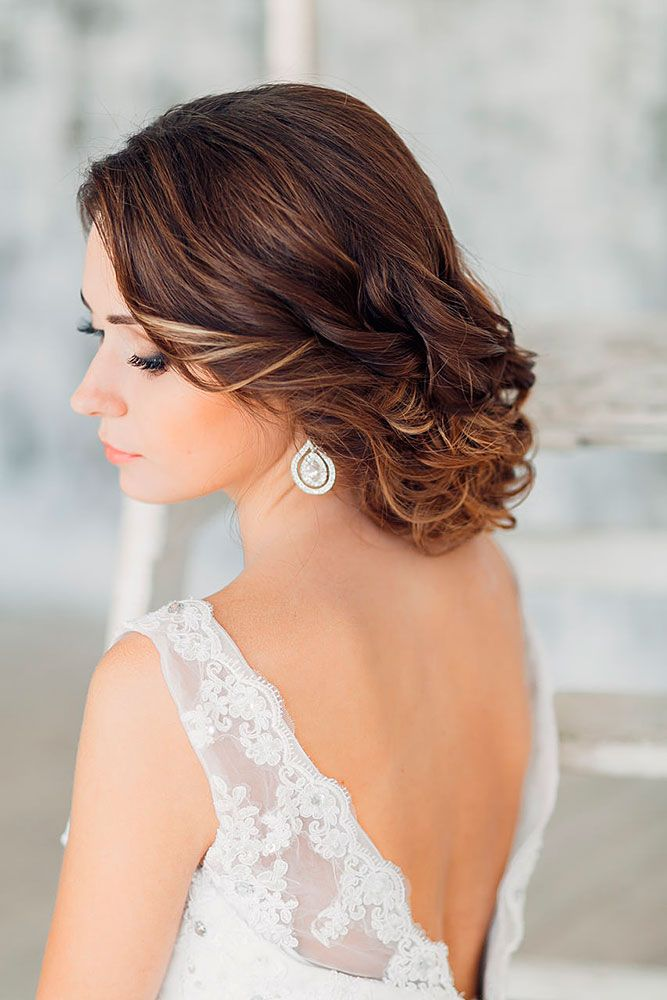 Bridal Hairstyles : 42 Short Wedding Hairstyle Ideas So Good You\'d ...