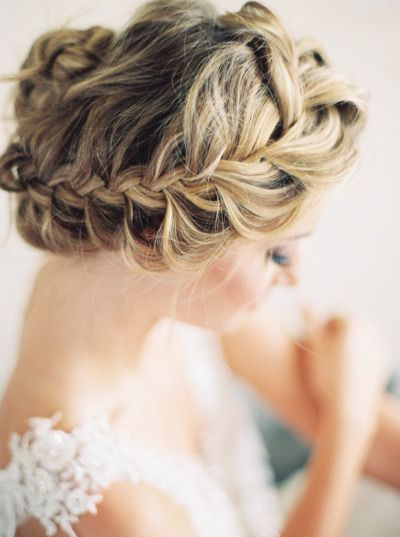 15 Braided Wedding Hairstyles that Will Inspire (with Tutorial) | www.deerpearlf...