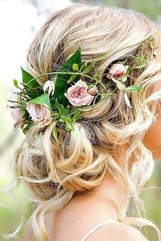 Killer Swept-Back Wedding Hairstyles ❤ See more…