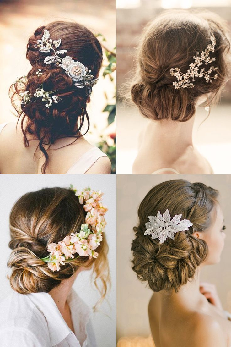 bridal hairstyles : 18 most romantic bridal updos ♥ beautiful
