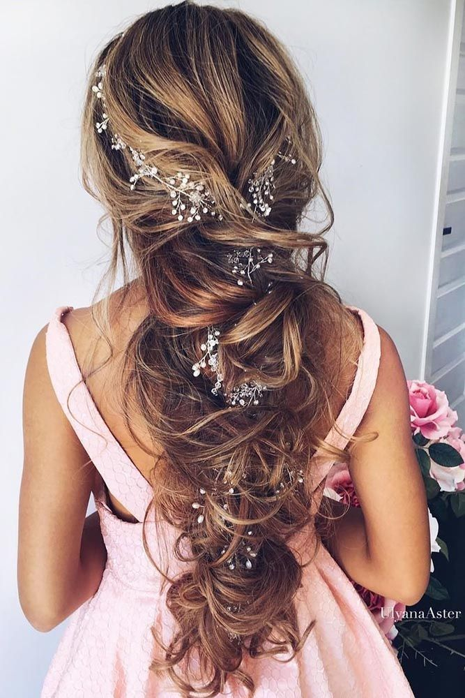 33 Favourite Wedding Hairstyles For Long Hair  See more: www.weddingforwar... #w...