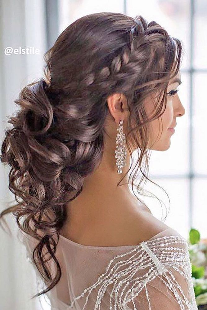 Killer Swept-Back Wedding Hairstyles  See more: www.weddingforwar... #weddings #...