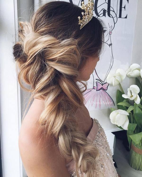 Ulyana Aster Long Bridal Hairstyles for Wedding_18 ❤ See More: www.deerpearlfl...