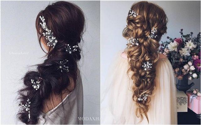 Ulyana Aster Long Wedding Hairstyles for Bride ❤ See More: www.deerpearlflow.....