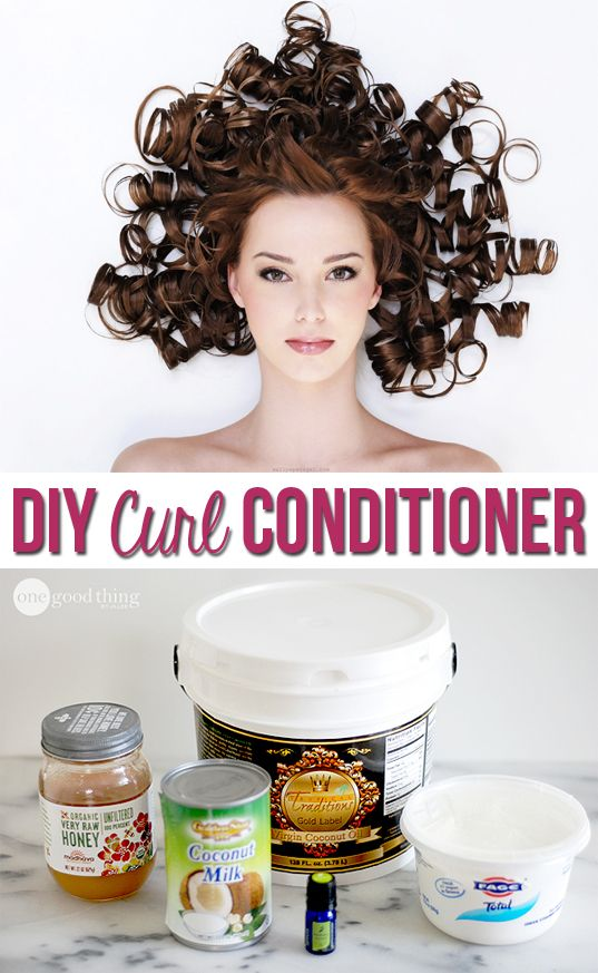 Moisturize and strengthen your hair for a fraction of the cost of commercial con...