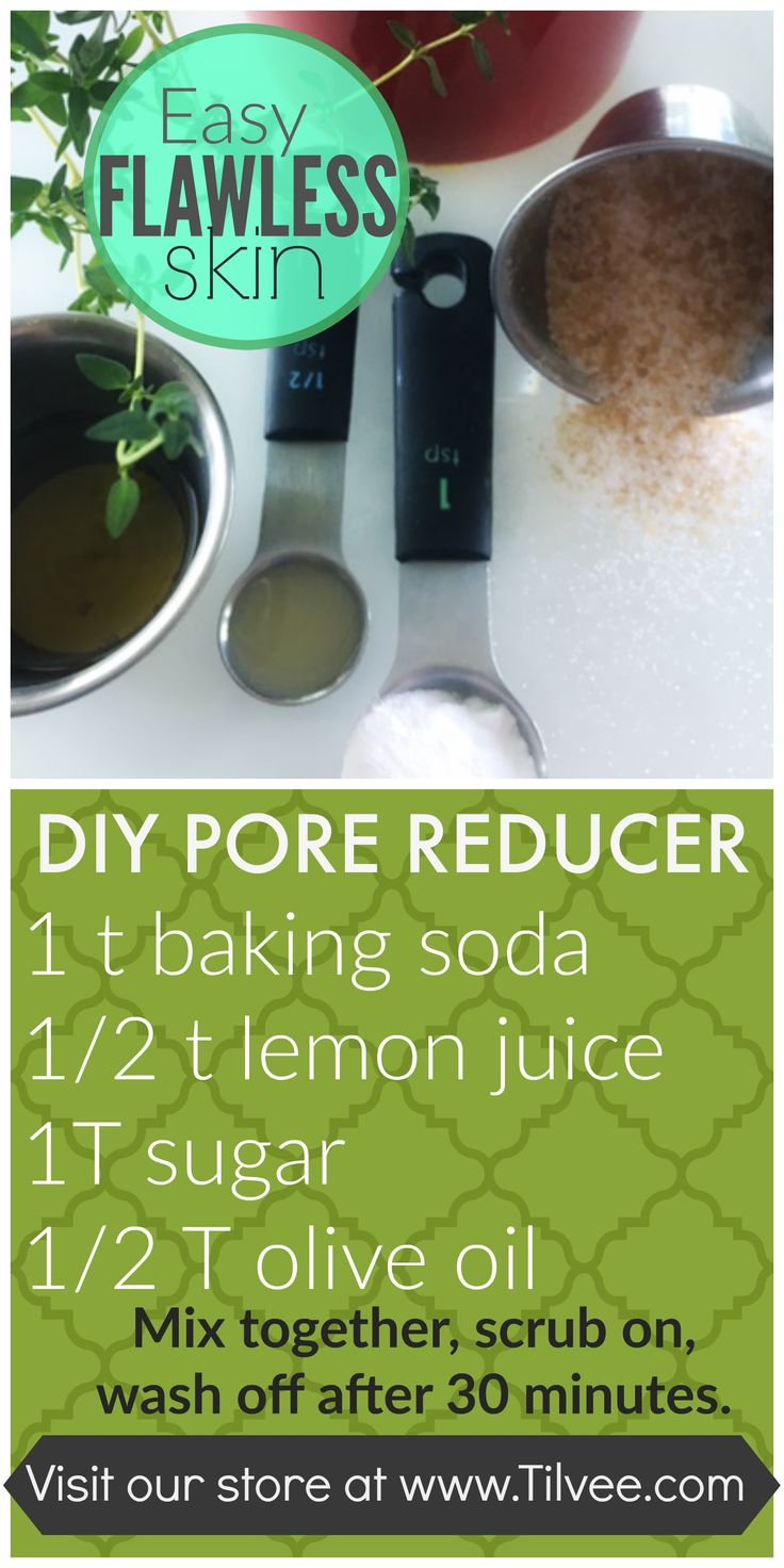 Easy DIY pore reducer for flawless skin.  Taking care of your skin can be simple...