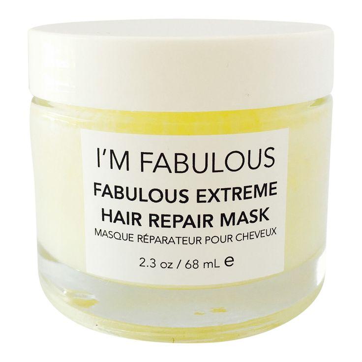Fabulous Extreme Hair Repair Mask Organic & Vegan