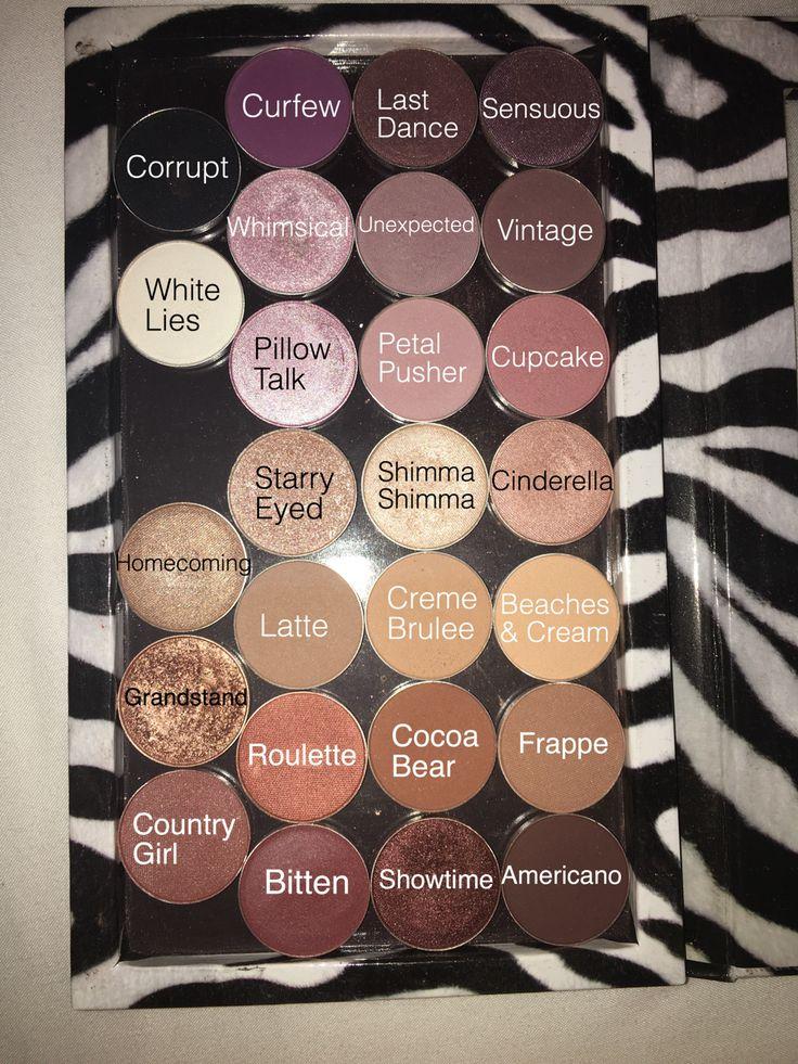 Makeup Geek Eyeshadows in a Z Palette