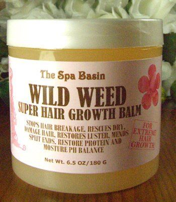 Wild Weed Super Hair Growth Formula /Soften and Moisturize Dry, Frizzy, Hard to ...