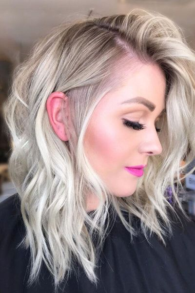 Short beachy waves are just as fabulous!