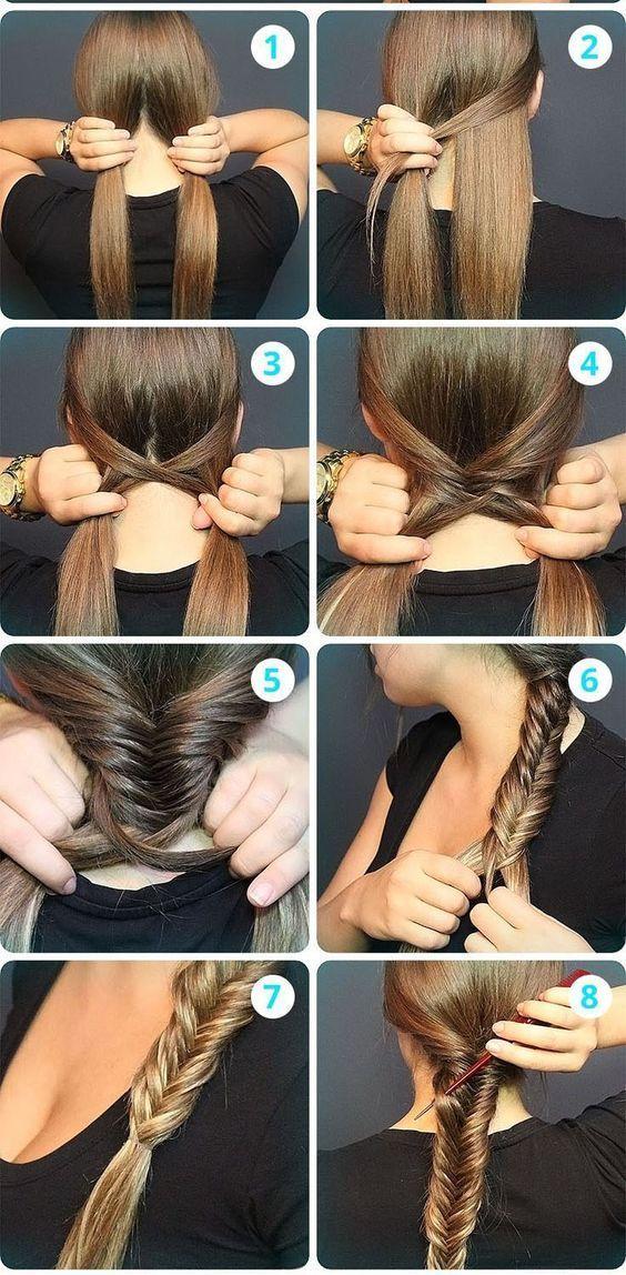 Si, comme moi, vous aimez les coiffures simples pour filles pressées, vous ador...