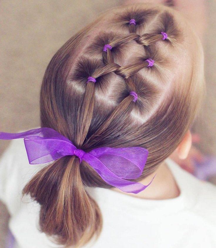 Hairstyle Tresses Coiffure Petite Fille Tresse Avec