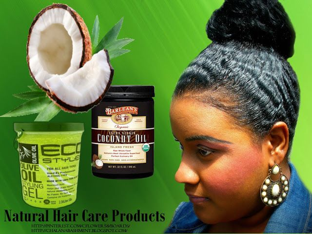 Eco Style Gel and Organic Coconut Oil | Fashion and Beauty with Chalana Bashment
