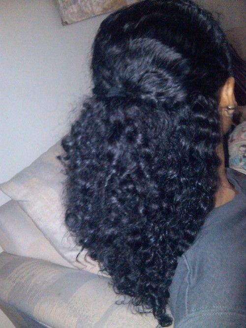 Shea Moisture Curl Enhancing Smoothie | ... after a braid out, using Shea Moistu...