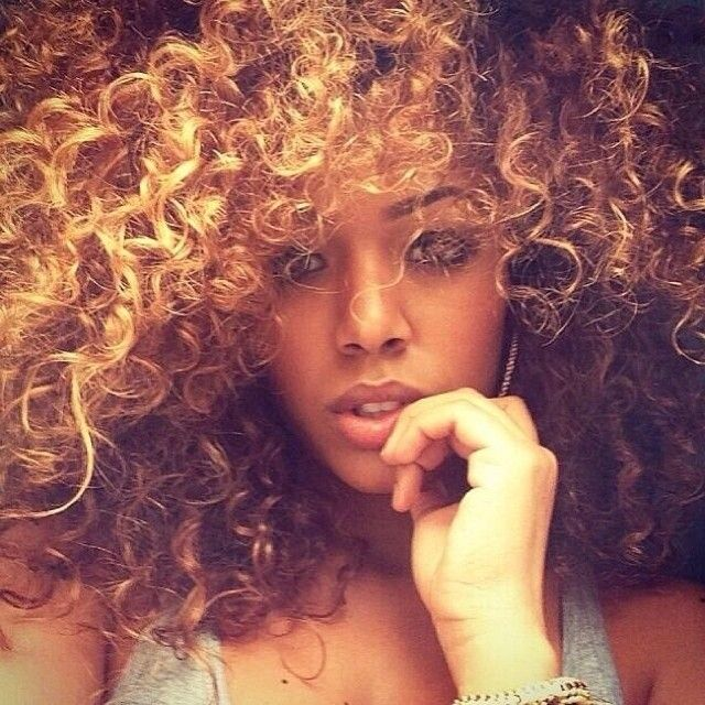 We like curly hair.