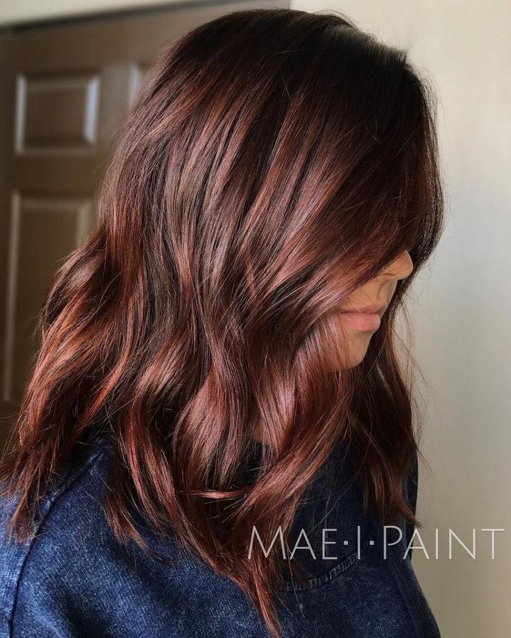 Trendy Hair Color Highlights Chocolate Brown Hair Beauty