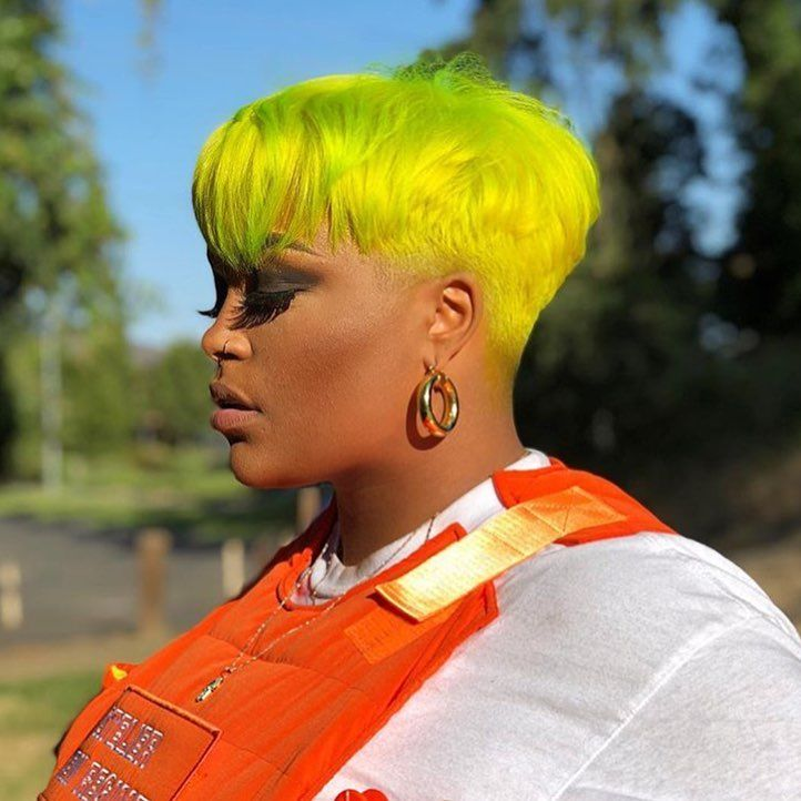 Loving The Neon Pixie @na0__  - blackhairinformat...
