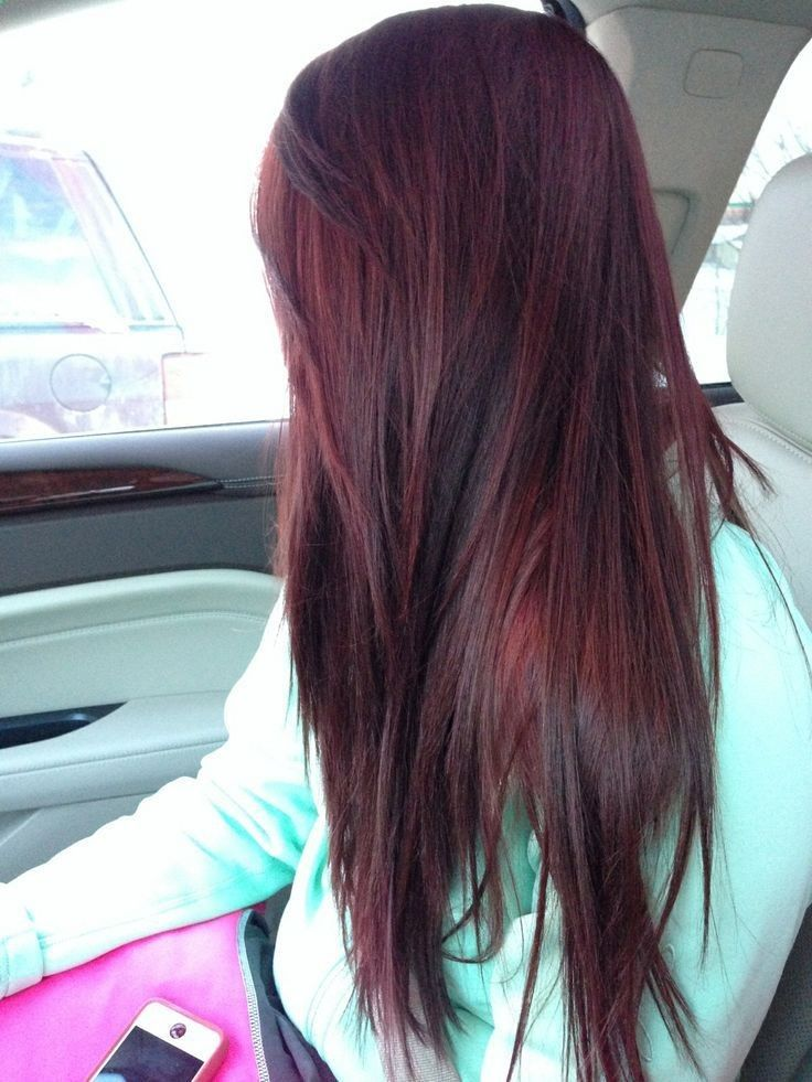 Going for this color once school is out! So the first week of June, I'm doin...