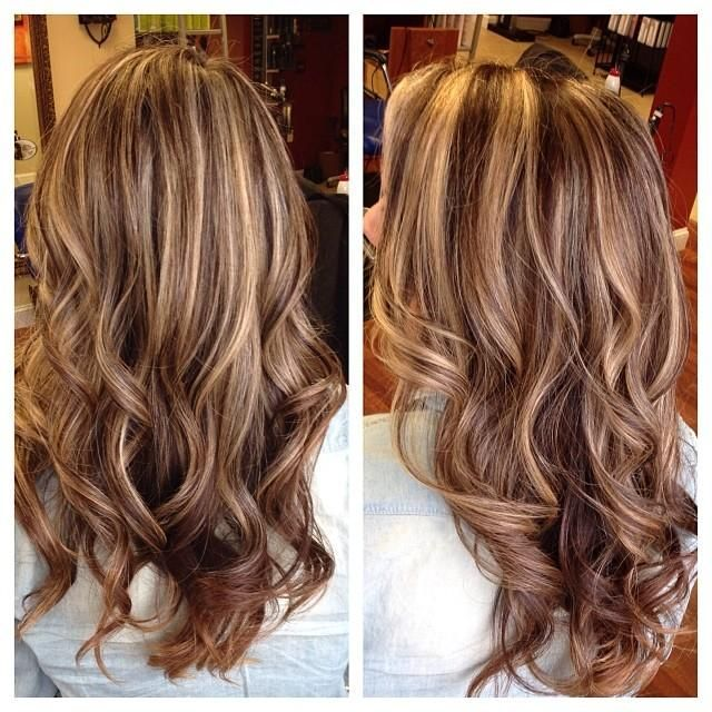 Love the blended highlights, but a little too blonde dominant for me.