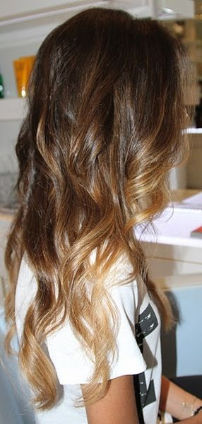 brown ombre | Tumblr