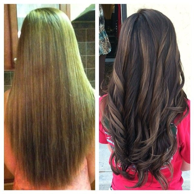 Trendy Ideas For Hair Color Highlights Before And After