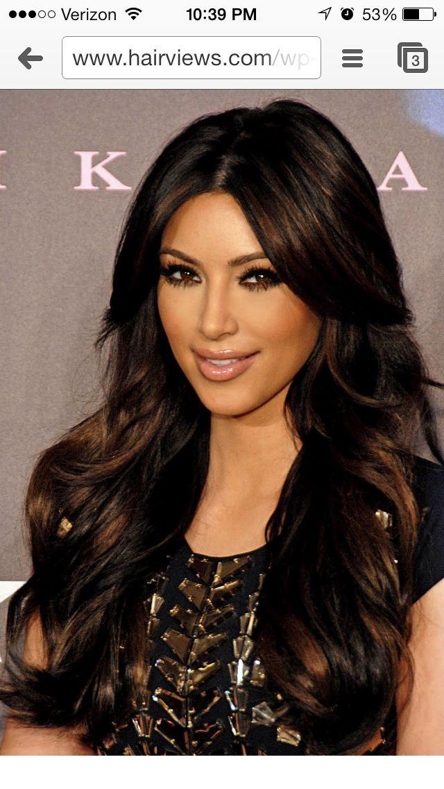 Trendy Ideas For Hair Color Highlights Black Hair W Chocolate