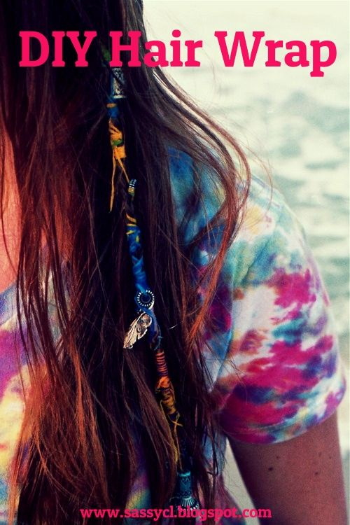 Boho Hair Wraps i use to do this to my hair all the time and they would stay in ...