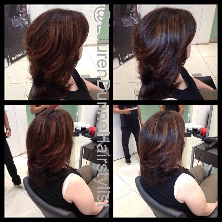 Trendy Ideas For Hair Color Highlights Chocolate Brown Hair