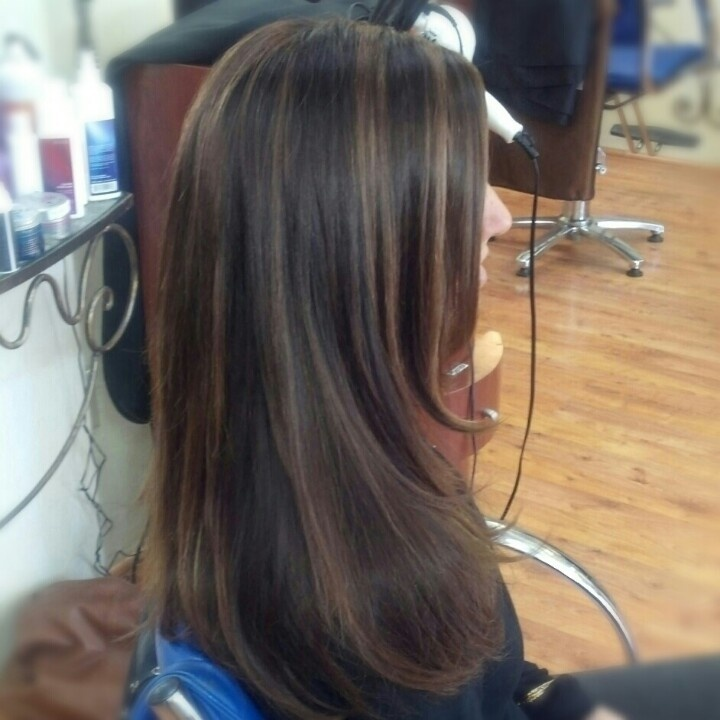 Trendy Ideas For Hair Color Highlights Chocolate Brown With Warm