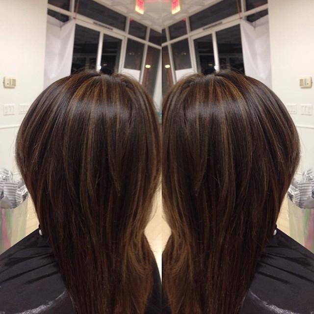 Trendy Ideas For Hair Color Highlights Dark Brown Highlights