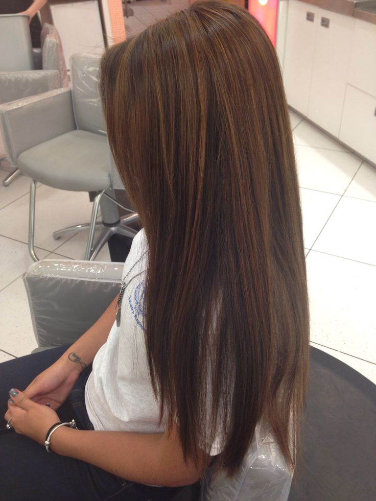 Trendy Ideas For Hair Color Highlights Dark Brown With