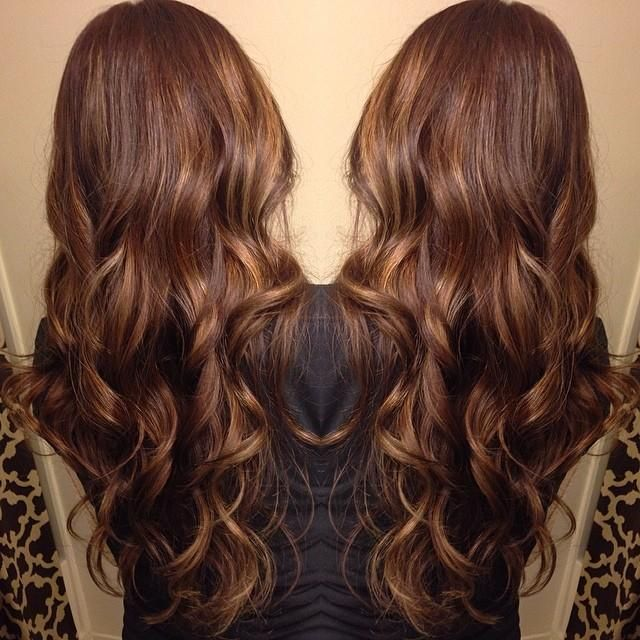 Trendy Ideas For Hair Color Highlights From A Dark Box Brown