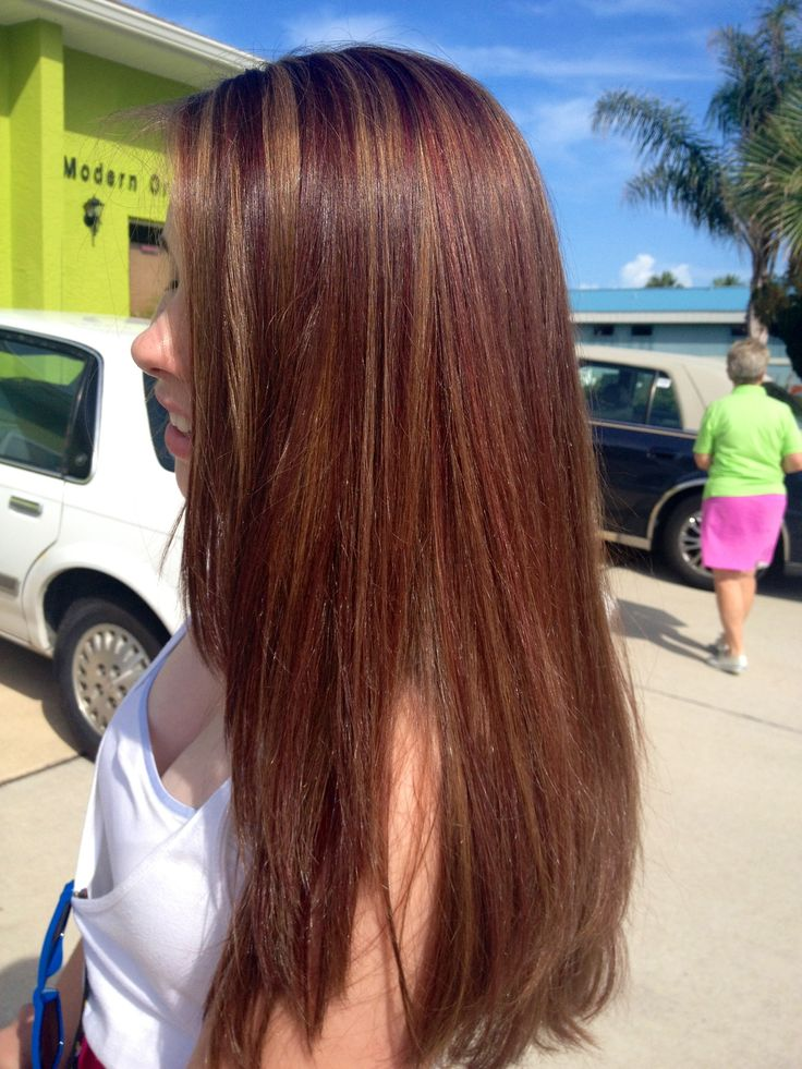 Trendy Ideas For Hair Color Highlights Golden And Auburn