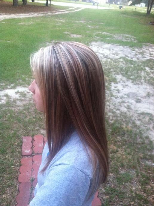 Trendy Ideas For Hair Color Highlights Highlightslowlights